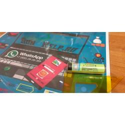 Батарейка NCR18650B с защитой
