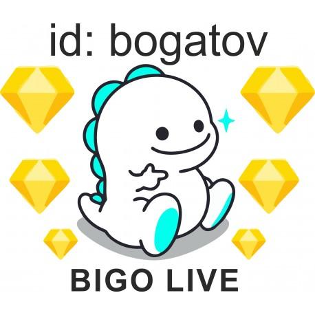 Пополнение в BIGO
